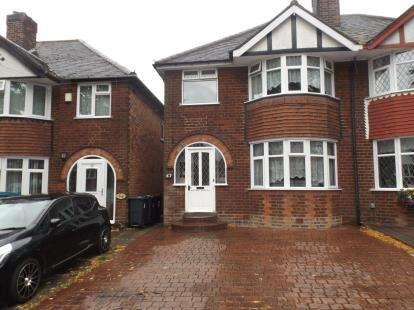 3 Bedrooms Semi Detached House for sale in Beaufort Avenue, Hodge Hill, Birmingham, West Midlands