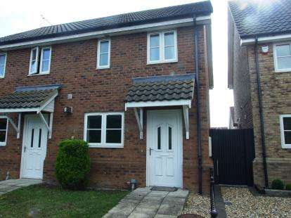 2 Bedrooms Semi Detached House for sale in Beck Row, Bury St. Edmunds, Suffolk