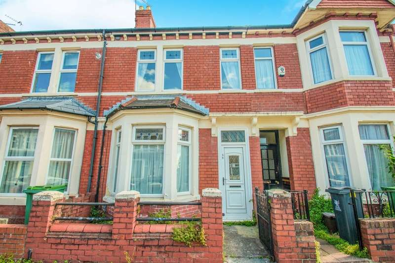 3 Bedrooms Terraced House for sale in Brithdir Street, Cardiff