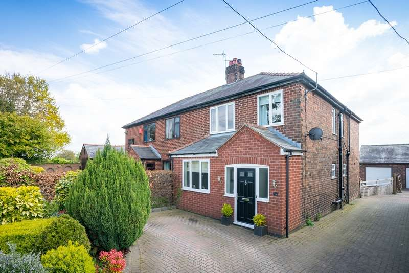4 Bedrooms Semi Detached House for sale in Wheatsheaf Lane, Northwich, Cheshire, CW9
