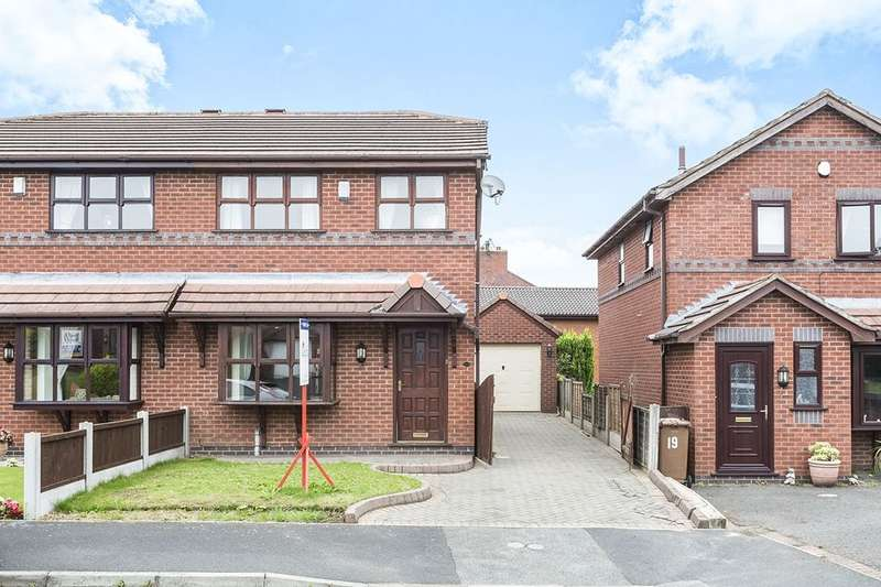 3 Bedrooms Semi Detached House for sale in The Brambles, Ashton-In-Makerfield, Wigan, WN4