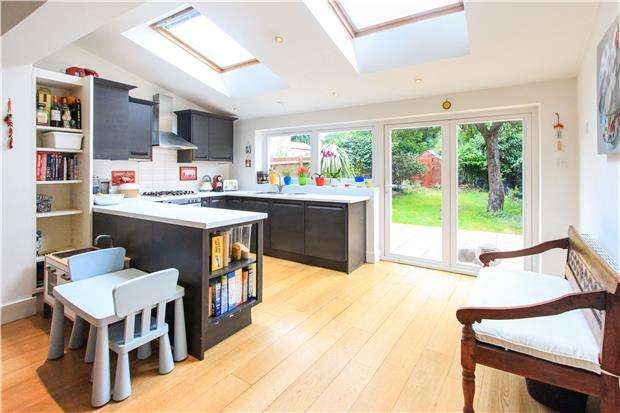 2 Bedrooms Terraced House for sale in Huntingfield Road, Putney, LONDON, SW15