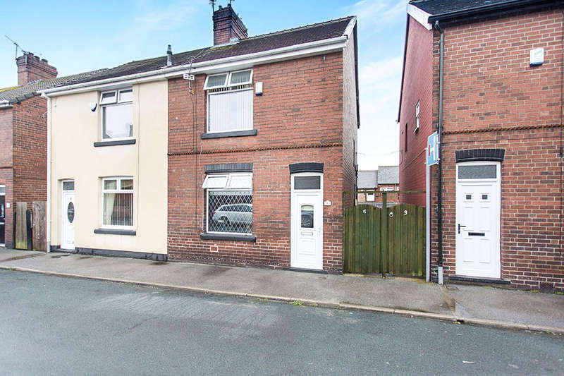 2 Bedrooms Semi Detached House for sale in Queens Road, Cudworth, Barnsley, S72