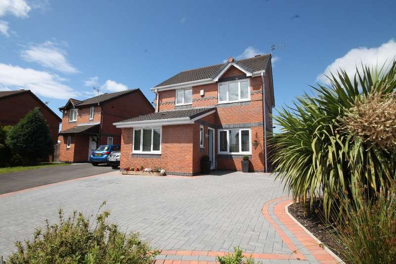 3 Bedrooms Detached House for sale in Broadlands, Prescot L35