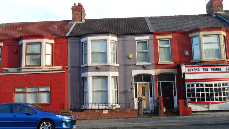 4 Bedrooms Terraced House for sale in Derby Lane Old Swan L13