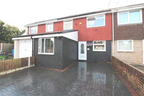 3 Bedrooms Terraced House for sale in Weaver Avenue, Kirkby