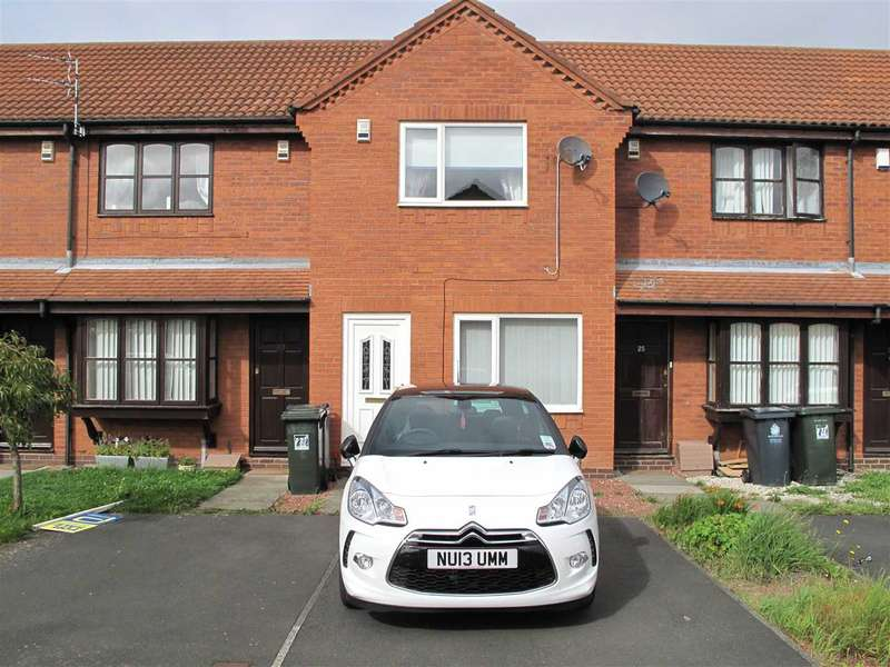 2 Bedrooms Terraced House for sale in Cloverhill Close, The Wyndings, Annitsford