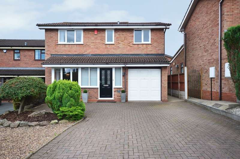 4 Bedrooms Detached House for sale in ****NEW**** Polperro Way, Meir Park, ST3 7UH