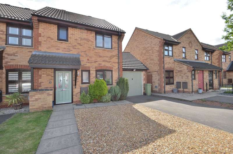3 Bedrooms End Of Terrace House for sale in Boxgrove Court, Monkston