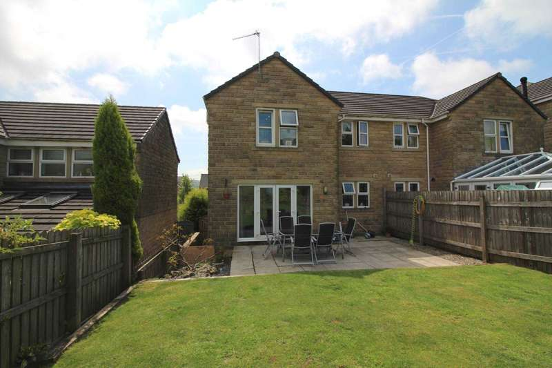 3 Bedrooms Semi Detached House for sale in Meadow Lane, Slaithwaite