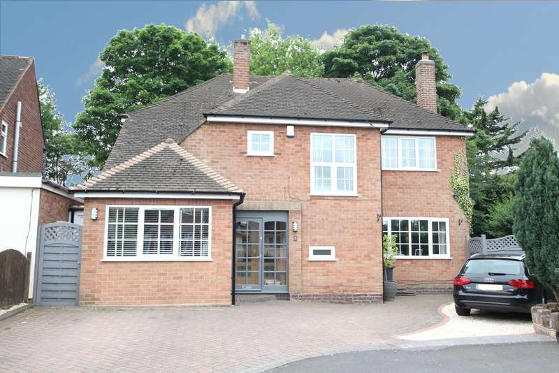 4 Bedrooms Detached House for sale in Beoley Close, Wylde Green,Sutton Coldfield