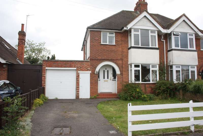 3 Bedrooms Semi Detached House for sale in Hilltop Road, Earley, Reading, RG6