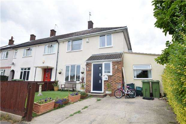 3 Bedrooms End Of Terrace House for sale in Norfolk Avenue, CHELTENHAM, Gloucestershire, GL51 8DD