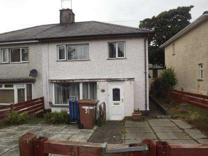 3 Bedrooms Semi Detached House for sale in Cae Mur, Caernarfon, Gwynedd, LL55