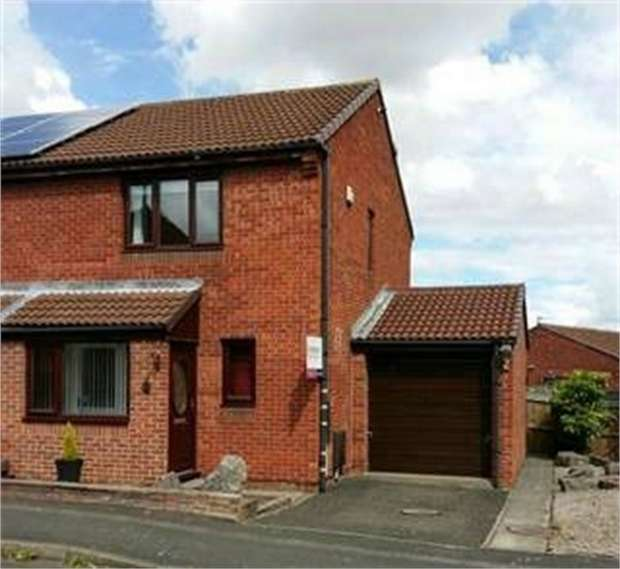 2 Bedrooms Semi Detached House for sale in Nairn Close, Darlington, Durham