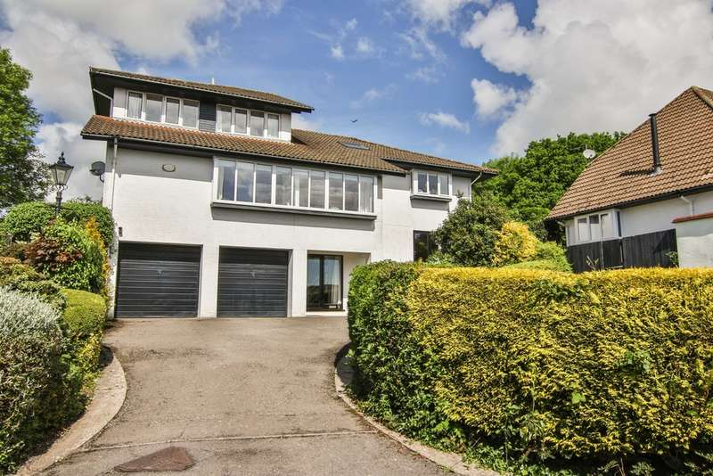 5 Bedrooms Detached House for sale in Turnpike Close, Dinas Powys, The Vale Of Glamorgan