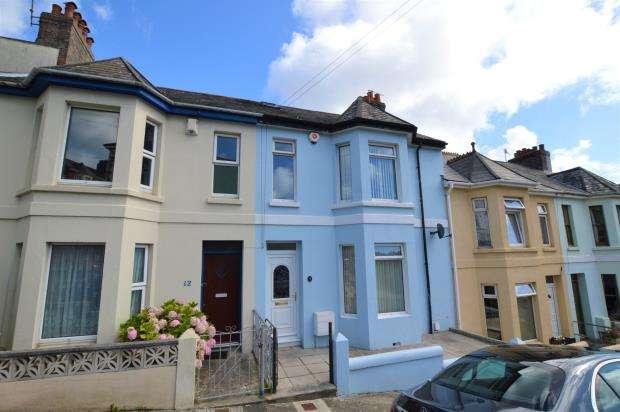 3 Bedrooms Terraced House for sale in Mostyn Avenue, Plymouth, Devon