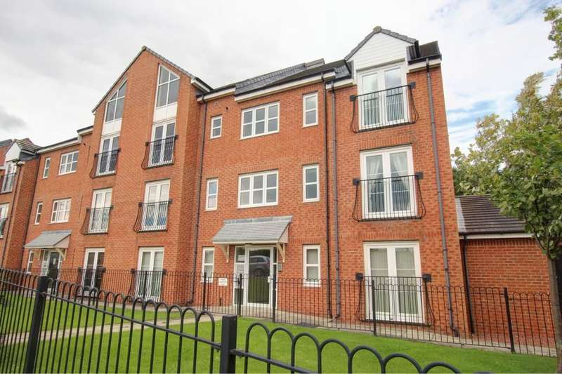 2 Bedrooms Flat for sale in The Willows, Gateshead, NE10