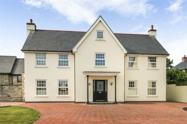 4 Bedrooms Detached House for sale in Eglwys Nunnydd, Margam, Port Talbot, West Glamorgan