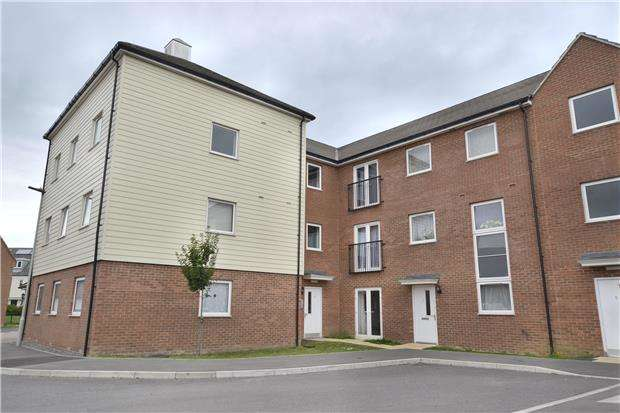 2 Bedrooms Flat for sale in Mattishall Close, Kingsway, Quedgeley, Gloucester, GL2 2GY