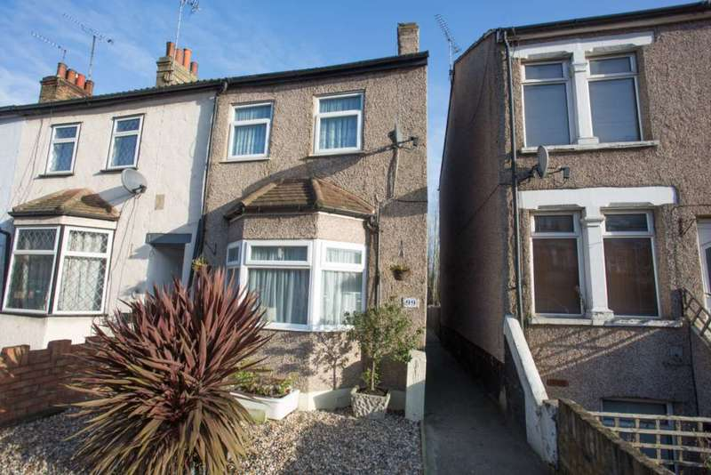 3 Bedrooms End Of Terrace House for sale in Hawley Road, Dartford