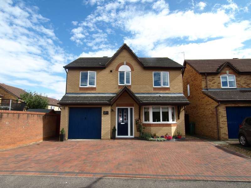 4 Bedrooms Detached House for sale in Foxglove Court, Newport Pagnell, Buckinghamshire