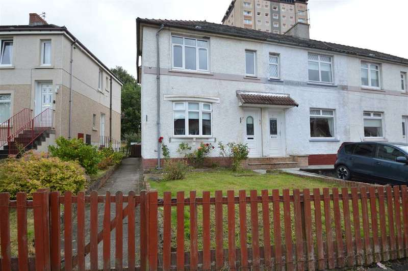 2 Bedrooms End Of Terrace House for sale in Watson Street, Motherwell