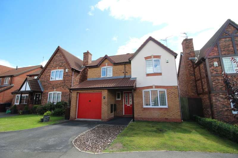 3 Bedrooms Detached House for sale in Balmoral Way, Prescot, L34