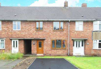 3 Bedrooms Terraced House for sale in Wimbourne Crescent, Chesterfield, Derbyshire
