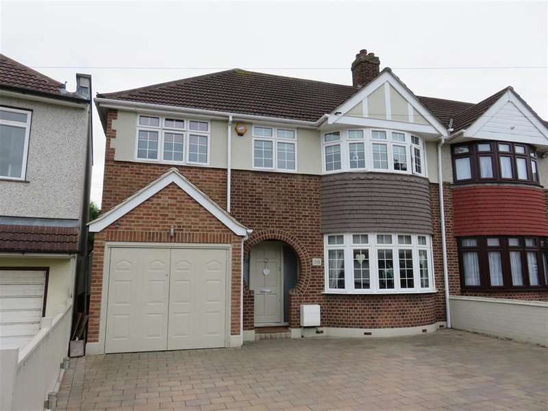 4 Bedrooms Semi Detached House for sale in Selwyn Crescent , Welling, Kent, DA16 2AP