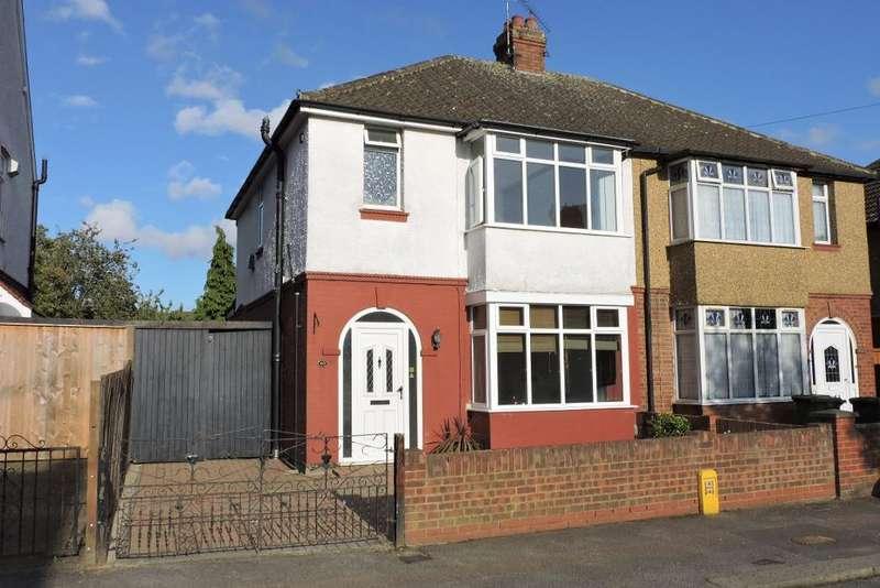 3 Bedrooms Semi Detached House for sale in Sunridge Avenue, Luton, Bedfordshire, LU2 7JL