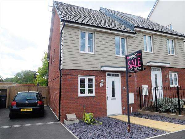 2 Bedrooms Semi Detached House for sale in Albatross Rd, The Rydons, Exeter