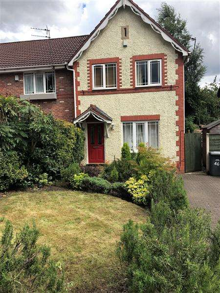 3 Bedrooms Semi Detached House for sale in Borderbrook Lane, Manchester