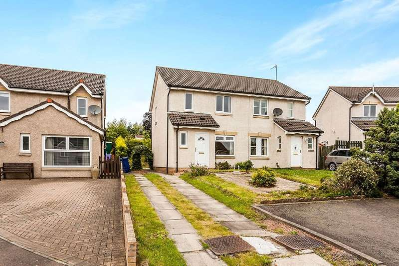 3 Bedrooms Semi Detached House for sale in Newbyres Gardens, Gorebridge, EH23