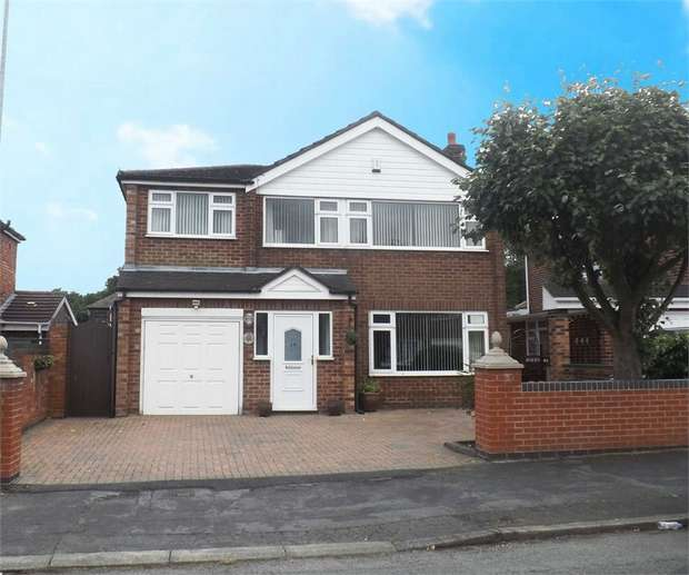 5 Bedrooms Detached House for sale in South Dale, Penketh, Warrington, Cheshire