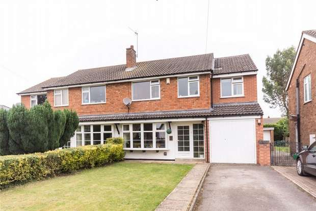 4 Bedrooms Semi Detached House for sale in Main Street, Alrewas, Burton upon Trent, Staffordshire