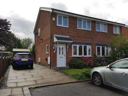 3 Bedrooms Semi Detached House for sale in Teal Close, Broadheath, Altrincham, Greater Manchester