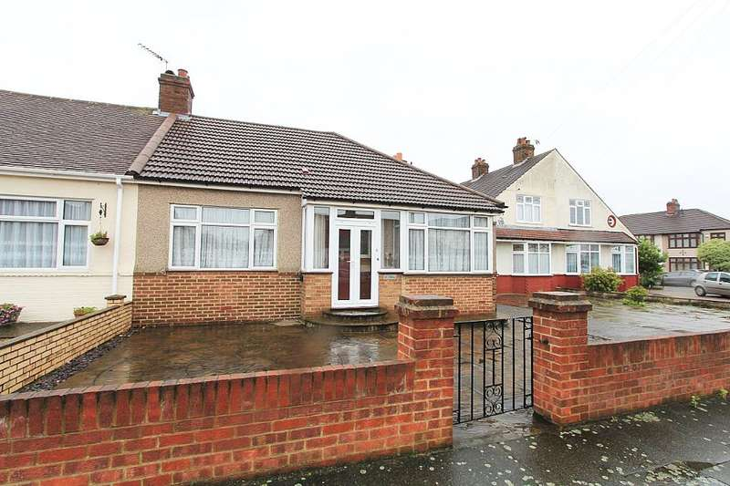 2 Bedrooms Semi Detached Bungalow for sale in Marley Avenue, Bexleyheath, Kent, DA7 5RU