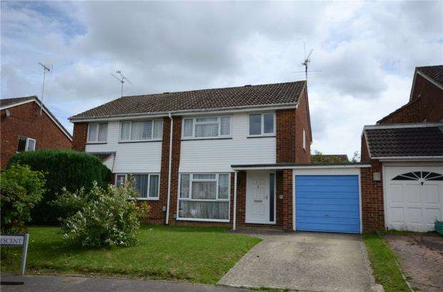 3 Bedrooms Semi Detached House for sale in Shefford Crescent, Wokingham, Berkshire