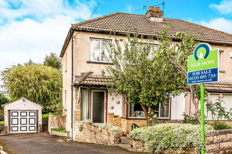 3 Bedrooms Semi Detached House for sale in Park View Avenue, Cross Roads, Keighley, BD22