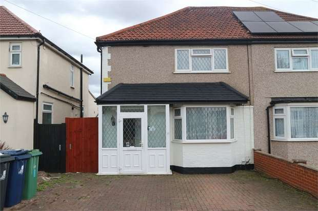 3 Bedrooms Semi Detached House for sale in Russell Road, Northolt, Greater London