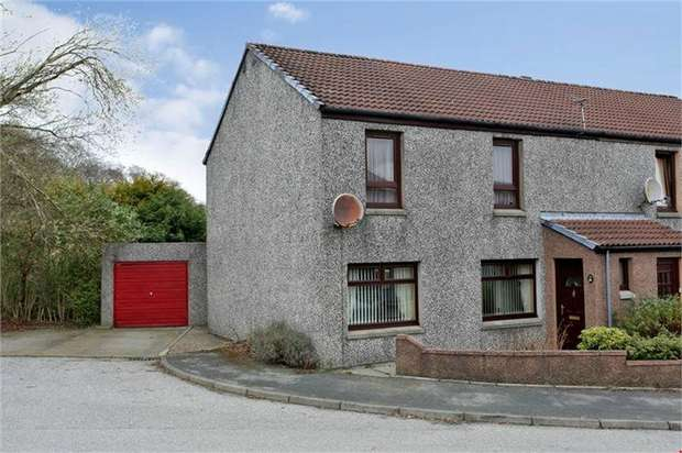 3 Bedrooms End Of Terrace House for sale in Lee Crescent North, Bridge of Don, Aberdeen