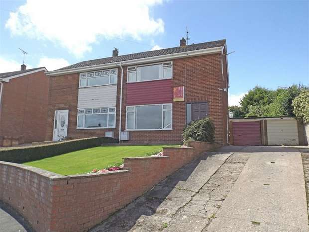 3 Bedrooms Semi Detached House for sale in Bryn Drive, Coedpoeth, Wrexham