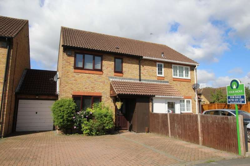 3 Bedrooms Semi Detached House for sale in Jutland Place, Egham, TW20