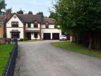 5 Bedrooms Detached House for sale in Rembury Place, Dutton, Warrington, Cheshire