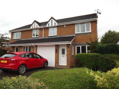3 Bedrooms Semi Detached House for sale in Milton Close, Middlewich, Cheshire