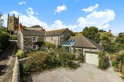 4 Bedrooms Detached House for sale in Perranuthnoe, Penzance, Cornwall