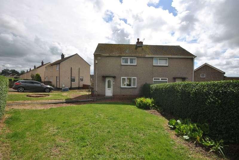 2 Bedrooms Semi Detached House for sale in Lothian Road, Stewarton, KA3 3BT