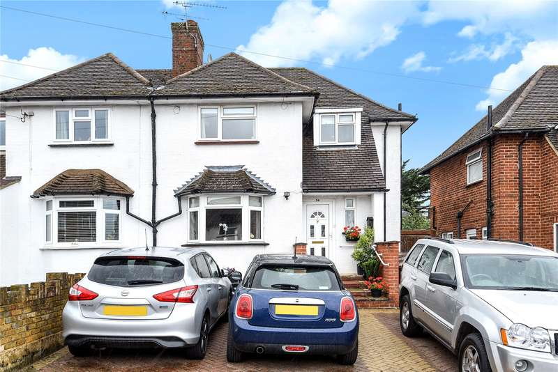 5 Bedrooms Semi Detached House for sale in The Greenway, Mill End, Hertfordshire, WD3