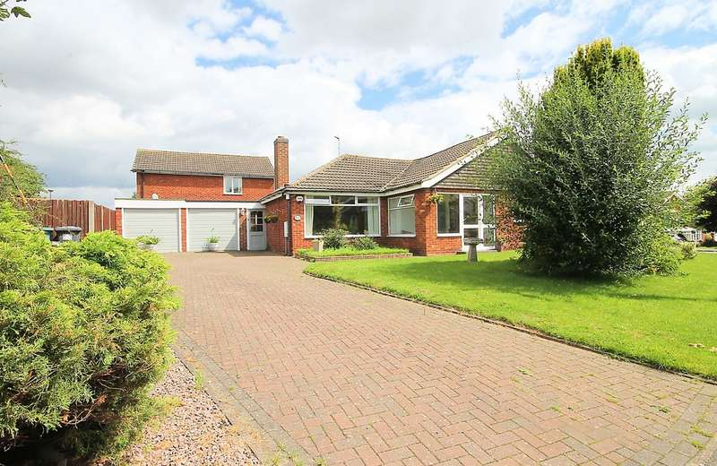 3 Bedrooms Detached Bungalow for sale in St Michaels Drive, Appleby Magna, DE12 7BG